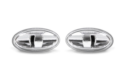 Side indicator set clear genuine Citroen C1 14-