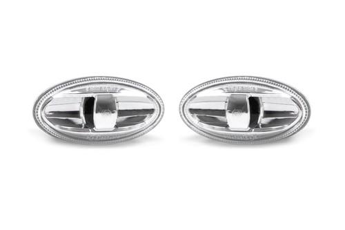 Side indicator set clear genuine Peugeot Partner 18-