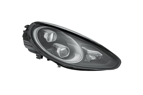 Headlight right LED black adaptive Porsche Panamera 13-16