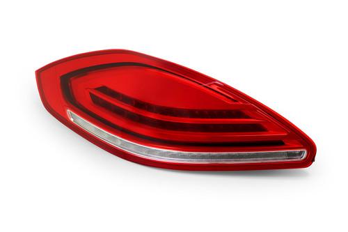 Rear light left red Porsche Panamera 13-16