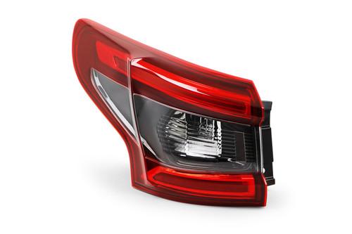Rear light left black indicator For Nissan Qashqai 17-