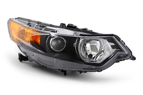 Headlight right black Honda Accord 09-11