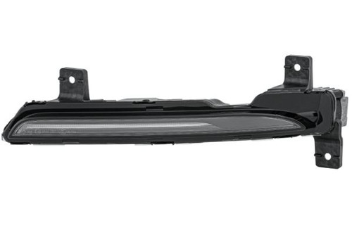 Front indicator left black with DRL Porsche 718 Boxster Cayman 16-