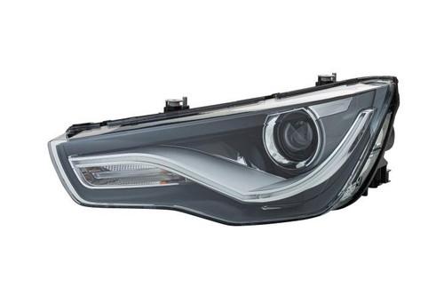 Headlight left bi-xenon LED DRL Audi A1 10-14 Hella