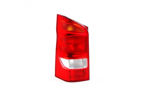 Rear light left Mercedes-Benz Vito tailgate 1 door 15- Hella
