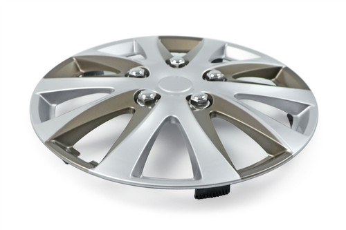"""15"""" Enbossa Wheel Trim set of 4 with nuts"""