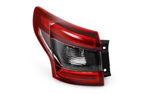 Rear light left black indicator LED For Nissan Qashqai 17-