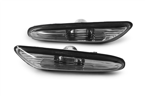 Side indicators set black BMW 5 Series E60 E61 03-10