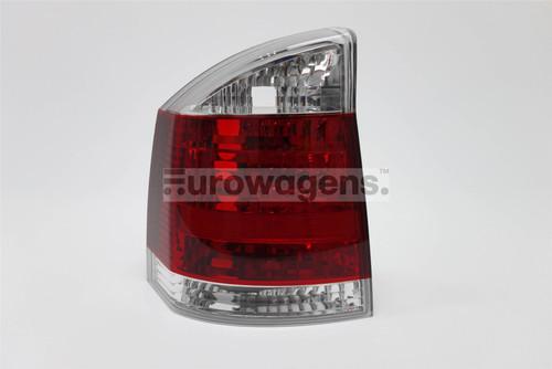 Rear light left clear Vauxhall Vectra 02-08