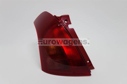 Rear light left Suzuki Swift 05-08