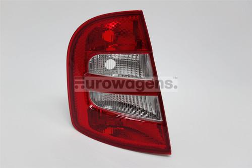 Rear light left Skoda Fabia 99-04 Hatchback