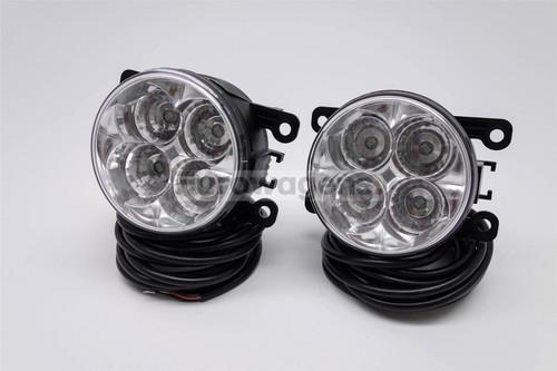 Fog lights set DRL LED with wiring OEM Citroen C5 04-08