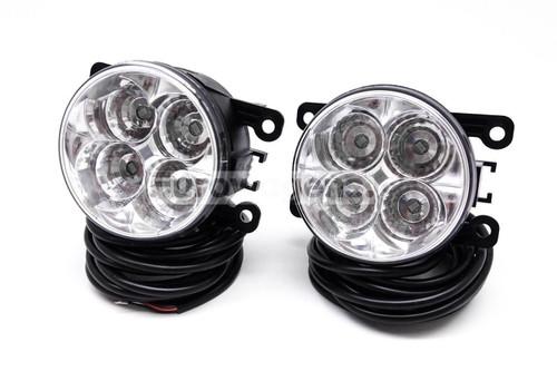 Fog lights set DRL LED with wiring OEM Peugeot 207 CC 07-09