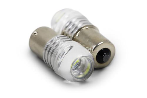 Daytime running light bulb set cool white upgrade P21W LED VW Passat 11-14