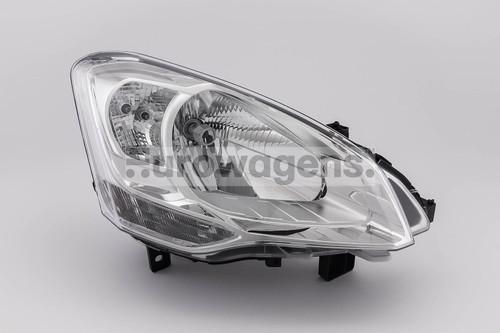 Headlight right Citroen Berlingo 15- Van only