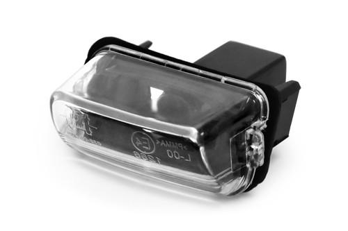 Number plate light Citroen C3 02-10