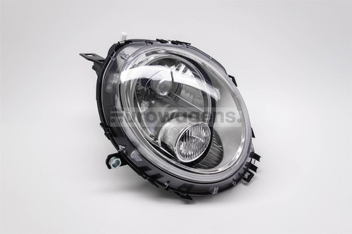 Headlight left chrome Mini Copper 06-14