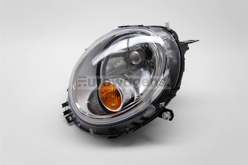 Headlight right chrome orange Mini Cooper 06-14
