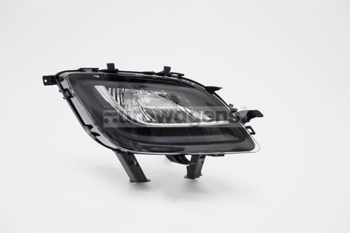 Front indicator right black Vauxhall Astra J 09-12