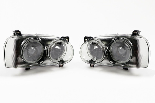Headlights set smoked projector VW Golf MK3 92-97