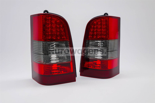 Rear light set smoked red LED Mercedes Vito V Class