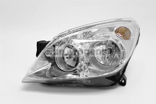 Headlight left chrome Vauxhall Astra H 07-10