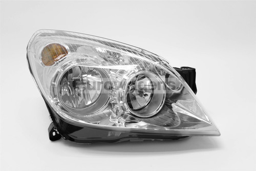 Headlight right chrome Vauxhall Astra H 07-10