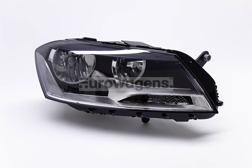 Headlight right VW Passat 11-14
