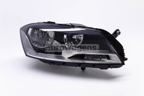 Headlight right VW Passat 11-14