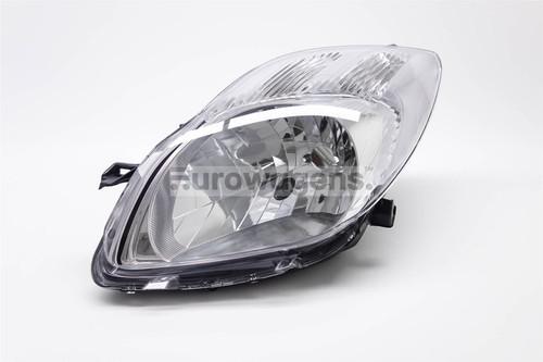 Headlight left Toyota Yaris 09-11