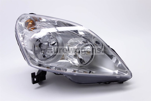 Headlight right chrome Vauxhall Zafira 08-10