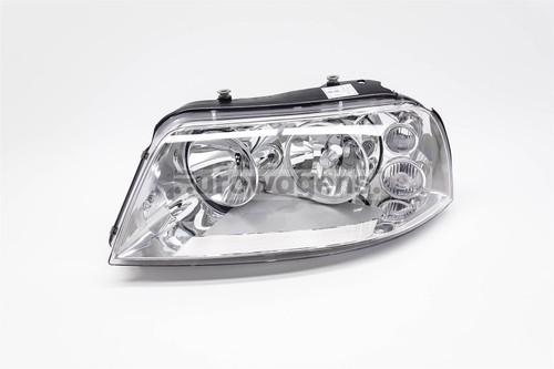 Headlight left chrome VW Sharan 00-10
