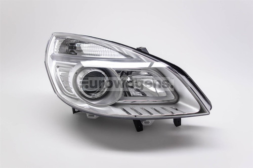 Headlight right Renault Scenic MK2 06-09