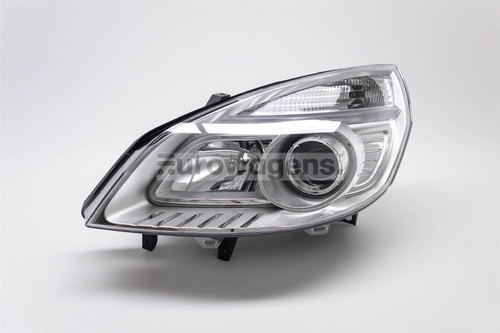 Headlight left Renault Scenic MK2 06-09