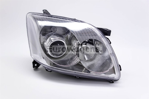 Headlight chrome right Toyota Avensis 03-06