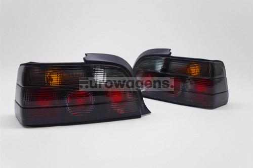 Rear lights set smoked BMW 3 Series E36 91-00 2 door