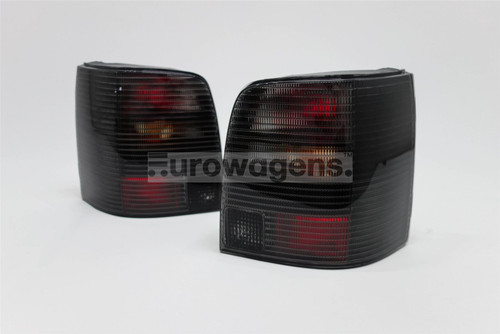 Rear lights set black VW Passat B5 97-00 Estate