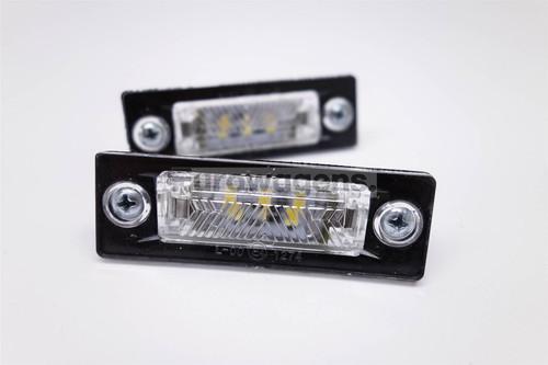 Number plate lights set LED VW Caddy 04-15