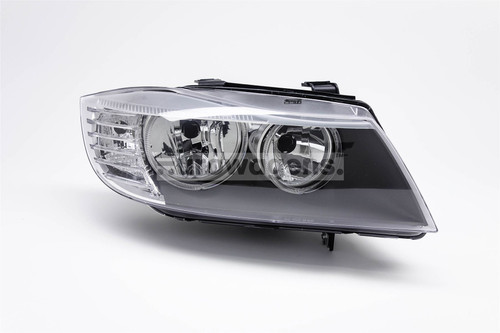 Headlight right BMW 3 Series E90/91 08-12 Saloon Estate