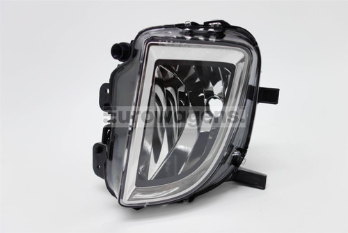 Front fog light left VW Golf MK6 GTI GTD 09-12