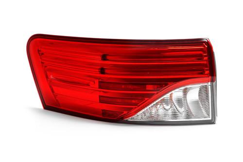 Rear light outer left LED Toyota Avensis 12-15 Estate