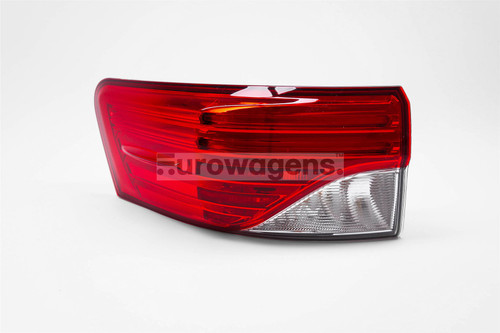 Rear outer light left LED Toyota Avensis 12-15 Saloon