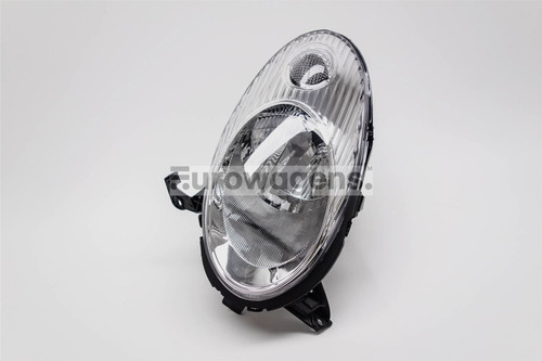 Headlight left chrome Nissan Micra K12 03-07