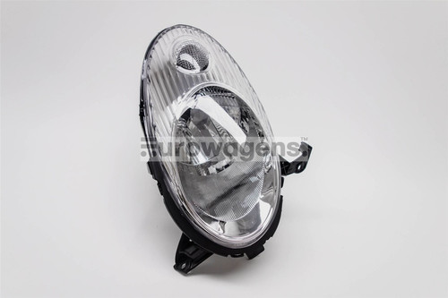 Headlight right chrome Nissan Micra K12 03-07