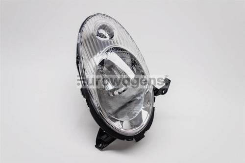 Headlight right chrome Nissan Micra K12 03-07