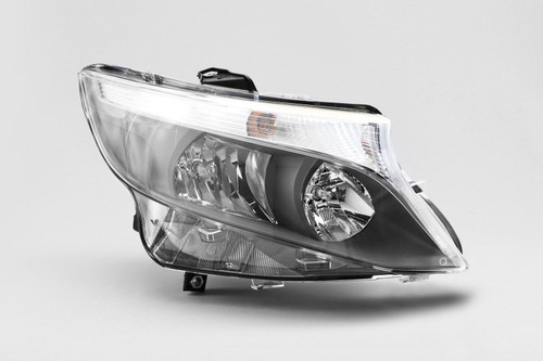Headlight right Mercedes Benz Vito 15-17