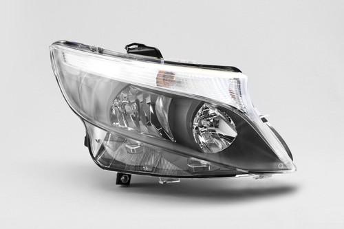 Headlight right Mercedes Benz Vito 15-17