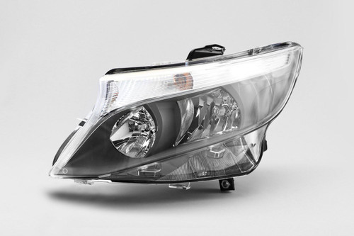 Headlight left Mercedes Benz Vito 15-17