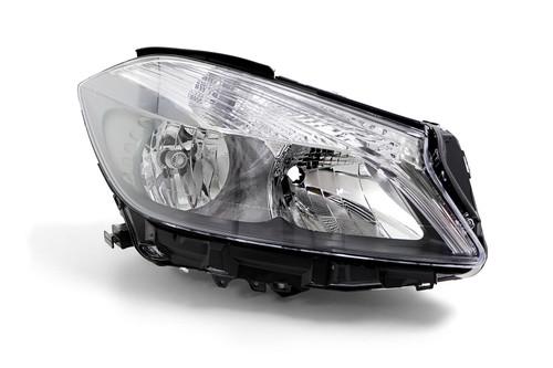 Headlight right Mercedes Benz A Class W176 12-15 Hella