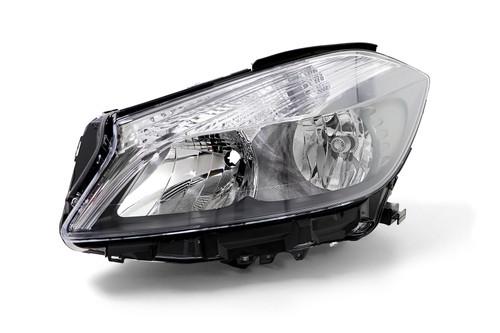 Headlight left Mercedes Benz A Class W176 12-15 Hella